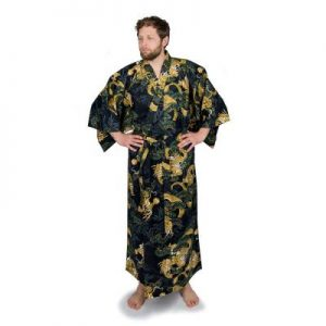 dragon yukata for men