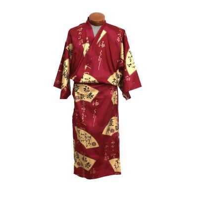 men's Japanese kimono robe fans