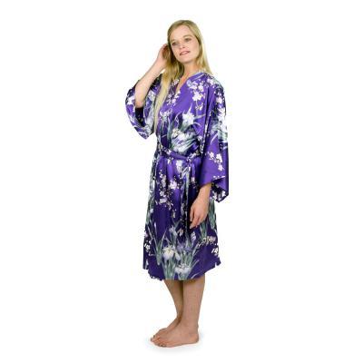 Ladies silk kimono