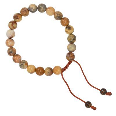 adjustable wrist mala bracelet