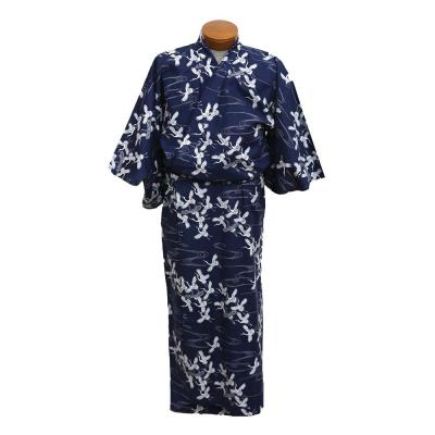 Ladies navy yukata