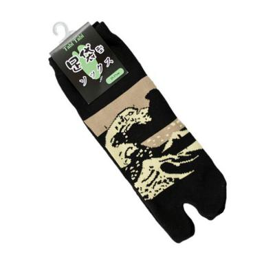 great wave tabi socks