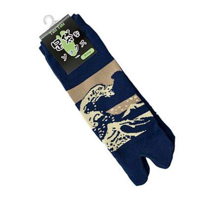 tabi socks great wave