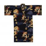 Short male kimono