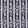 mens yukata robe in navy